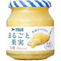 Aohata Japan Peach Melba Jam Selai Olesan Roti Rasa Buah Persik Jepang