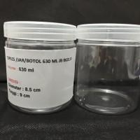TOPLES /BOTOL/JAR PLASTIK 800 ml Bulat JB0800 R