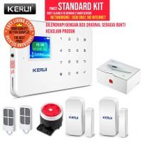 ORIGINAL KERUI G18 Wireless GSM IOS/Android Alarm Rumah