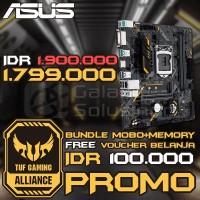 ASUS TUF B360M-E Gaming (mATX, LGA1151, B360, DDR4) CoffeeLake