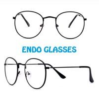 Kacamata Bulat Oval Korea
