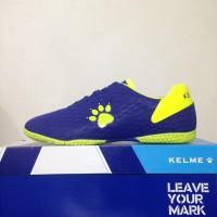 Harga sepatu futsal kelme inspire x royal lime 1108703 original | antitipu.com