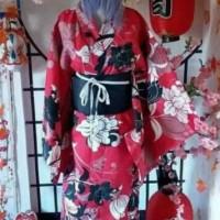 Yukata Kimono Kostum Wanita Jepang Cosplay- Yukata DeiMaru Shop Update