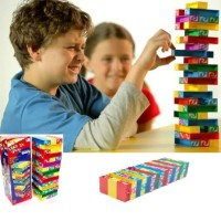 Uno Stacko Tower Mainan Edukatif Anak Mainan Balok Susun - ASY009