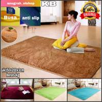 karpet/matrass bulu lembut dan empuk uk 150x200x3cm