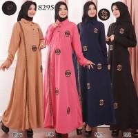 Gamis Remaja Baju Gamis Wanita Terbaru Gamis Wafer 8295