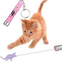 Mainan Laser Untuk Kucing - Pink
