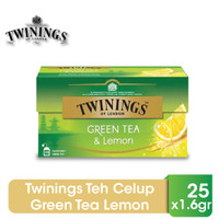 Twinings Teh Celup Green Tea Lemon 25x1.6gr