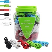 Kabel Data Veger Micro Android Toplesan 1 Toples Isi 50 pcs