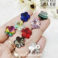Kristal kaca swa KW Bunga