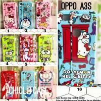 Baru Softcase case 360 cartoon Oppo A3s Redmi 5A S2 hello kitty