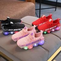 Sepatu Anak SNEAKER OFF LED Sepatu sneakers