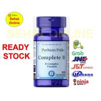 PURITAN PRIDE COMPLETE B B-COMPLEX VITAMIN 100 CAPLETS