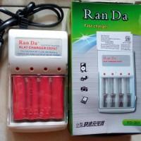 Spesial Price Charger Baterai Batre Aa A2 Aaa A3 Rechargeable Ran Da +
