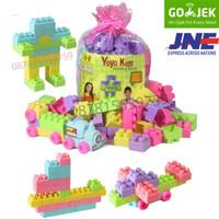 Mainan Block Lego Yoyo Isi 75 Pcs