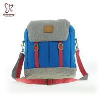 Tas Multifungsi Sling – backpack THREEREY ROFA TF40113 Biru