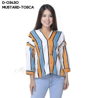 Fashion Baju Blouse Tangan Panjang Murah Wanita Kekinian 64