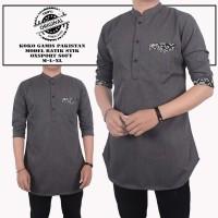 Baju pria dewasa|| Baju Koko Muslim Best seller Model Baru