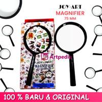 Joy-Art Magnifier Kaca Pembesar MF-75 / Kaca Pembesar 75 mm / Joy-Art