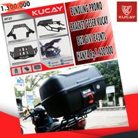 PROMO PAKET BRACKET KUCAY DAN BOX GIVI E43NTL