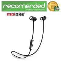 Moloke Bluetooth Sport Earphone - S7 - Hitam
