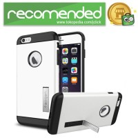 SGP iPhone 6 Plus Slim Armor Plastic   TPU Kickstand (OEM) - Putih