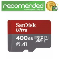 SanDisk Ultra microSDHC/XC Card UHS-I Class 10 A1 with SD Card Adapte