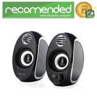 BONKS Multimedia Speaker Stereo 2.0 10W - DX18 - Hitam
