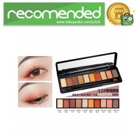NOVO Fashion Eye Shadow Novo 10 Warna - No.12