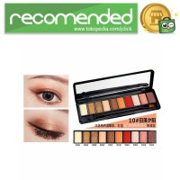NOVO Fashion Eye Shadow Novo 10 Warna - No.10