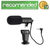 MAMEN Camera DSLR Shotgun Microphone 3.5mm - MIC-06 - Hitam