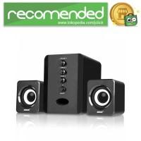 SADA D-202 Speaker Stereo 2.1 with Subwoofer & USB Power - Hitam
