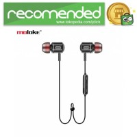 Freesolo Moloke Bluetooth Sport Earphone - S8 - Hitam