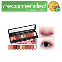NOVO Fashion Eye Shadow Novo 10 Warna - No.9