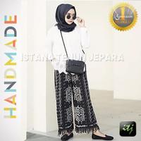 Celana Kulot Full Tenun Ikat Blanket Batik Spesial