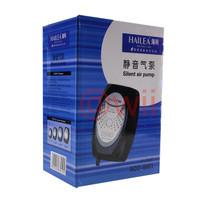 hailea aco 6601 silent air pump pompa mesin aquarium aerator gelembung