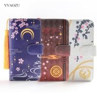 Dompet Wanita Touken Ranbu Online Long Wallet Women PU Leather