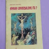 BUKU TEOLOGIA ...APAKAH UNIVERSALISME ITU?