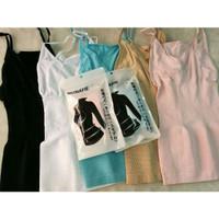 Japan MUNAFIE Cami Sharper Atasan Slim Cloth Slimming Camisole Munafie