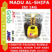 Madu AlShifa Toples Kawat - Madu al Shifa 1KG - Madu Asli Arab Kental