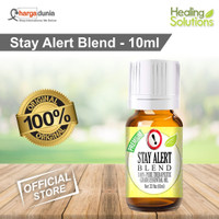 Healing Solutions Stay Alert Blend 100% Pure, Best Therapeutic