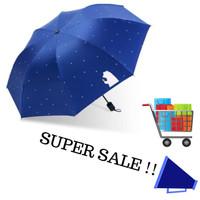 Payung lipat BEARNAVY bonus sarung payung