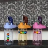 Mini Multi Botol Tulipware / Botol Minum Bening Anti Tumpah