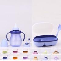 Tempat Makan Bayi + Dot Sekaligus Mug Mug Baby Set Tulipware