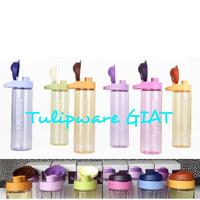 Multi Botol Tulipware / Botol Minum Bening Anti Tumpah