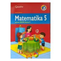 Buku Matematika Quadra Kelas 5 SD kurikulum 2013