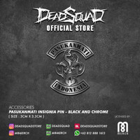 PASUKANMATI INSIGNIA PIN - BLACK CHROME