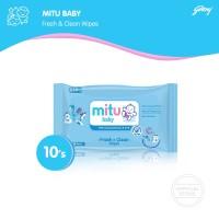 0577c476e5a2 Mitu Baby Wipes Fresh n Clean Blue  BOGOF 10 S