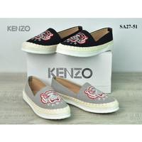 Sepatu Kenzo Espadrilles Classic Embroidered Tiger Canvas SA27-51