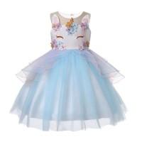 Dress Tutu Unicorn Gaun Pesta Anak Cewek Baju Anak Perempuan Import